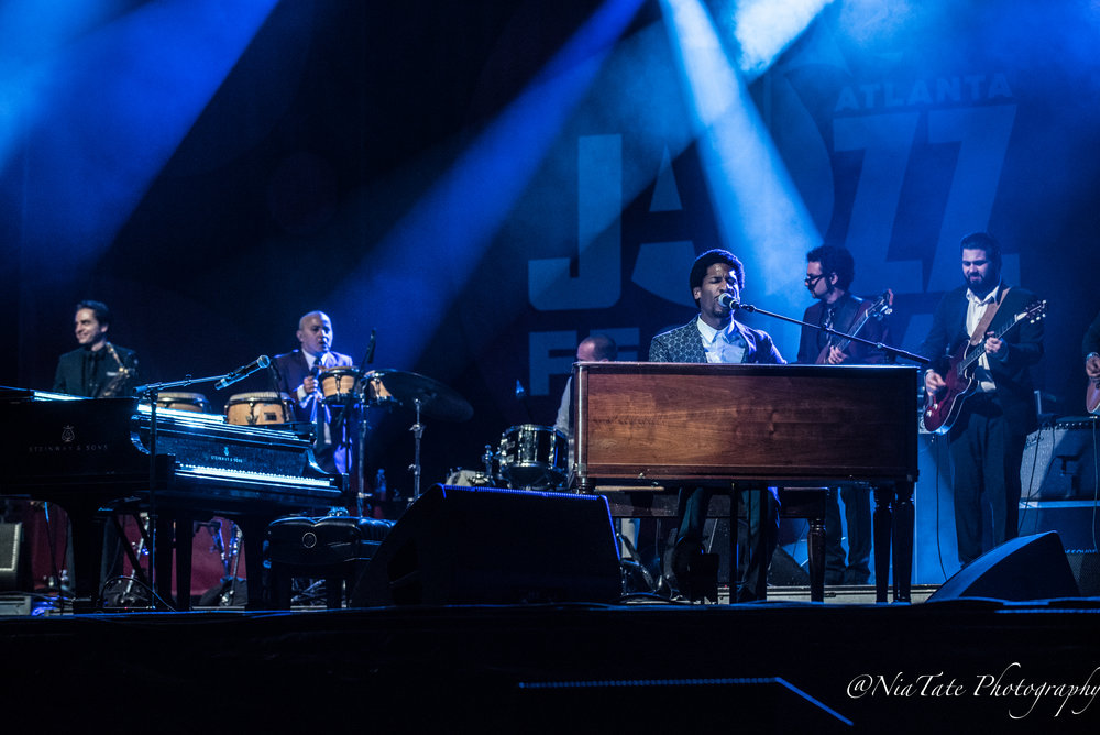 John Batiste and the Dap Kings at The 2018 Edition of The Atlanta Jazz Fest |  Image by:  Chinita Tate-Burroughs