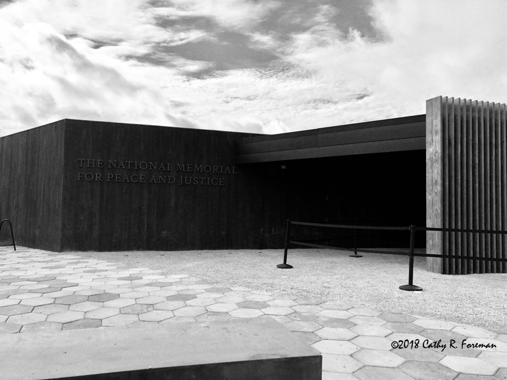 National Memorial for Peace and Justice in Montgomery, Alabama | Image by: Cathy R. Foreman