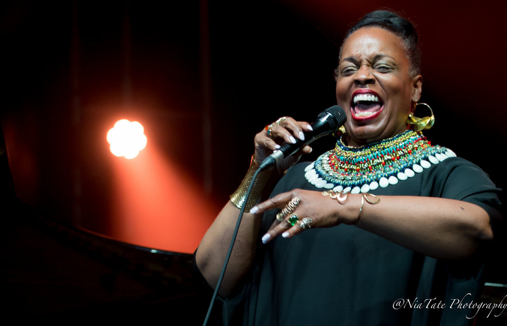 Dianne Reeves at The 2018 Edition of The Atlanta Jazz Fest | Image by  Chinita Tate-Burroughs