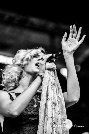 Joss Stone performs at the 2018 Richmond Jazz Festival. Image By:by Cathy R. Foreman