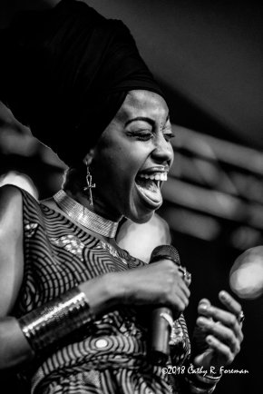 Jazzmeia Horn at Richmond Jazz Fest | by: Cathy R. Foreman