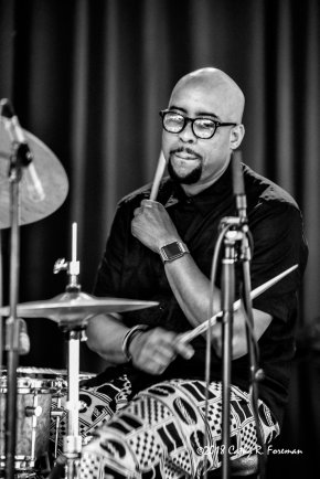 Henry Conway III performs at the 2018 Richmond Jazz Festival. Image by: Cathy R. Foreman
