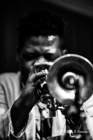 Keyon Harrold performs at the 2018 Richmond Jazz Festival. Image by: Cathy R. ForemanKeyon Harrold performs at the 2018 Richmond Jazz Festival. Image by: Cathy R. Foreman