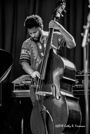 Barry Stephenson performs at the 2018 Richmond Jazz Festival. Image by: Cathy R. Foreman