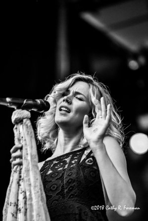 Joss Stone performs at the 2018 Richmond Jazz Festival. Image By:  by Cathy R. Foreman