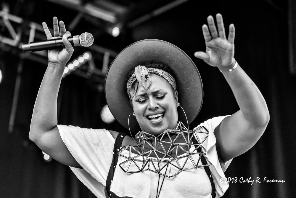 Deva Mahal performs at the 2018 Richmond Jazz Festival. Image by: Cathy R. Foreman