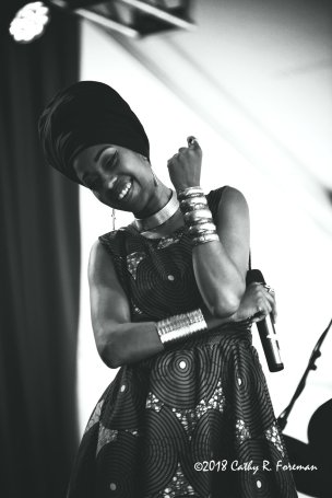 Jazzmeia Horn at Richmond Jazz Fest | by: Cathy R. Foreman