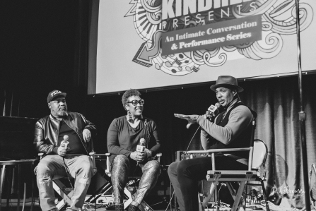 Ray Chew, interviewed by Kindred the Family Soul. Image by Cathy Foreman