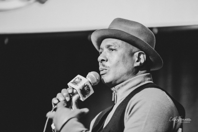 ray chew at kindred presents. image by cathy foreman