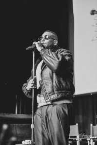 Guordan Banks performs at Kindred Presents. Image by Cathy Foreman